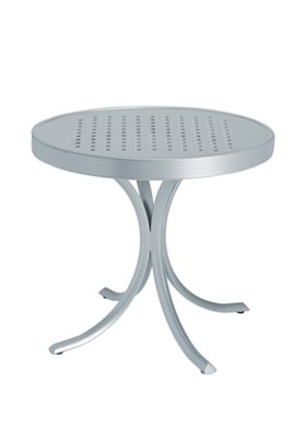 patio round tea table