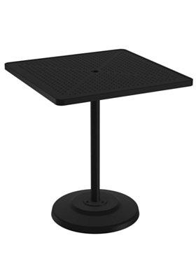 pedestal outdoor bar table