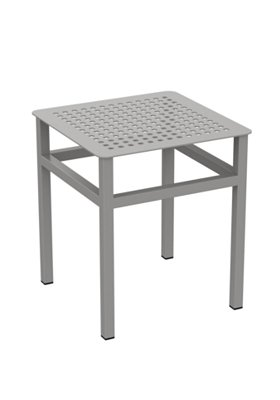 square outdoor tea table