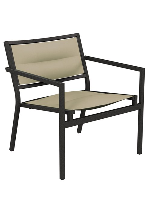 Cabana Club Padded Sling Lounge Chair