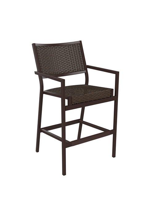 outdoor bar stool woven