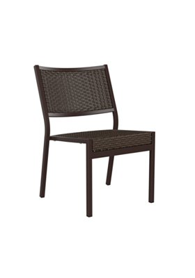 patio side chair woven