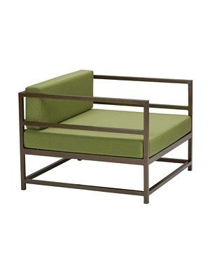 outdoor cushion arm chair