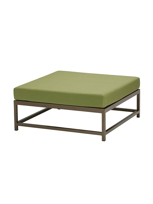 outdoor cushion square ottoman