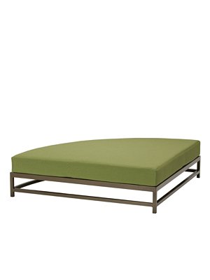 patio cushion party lounger quarter section