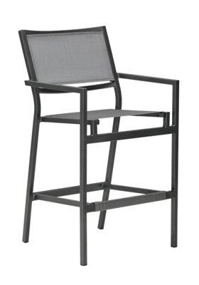 outdoor dining stationary bar stool