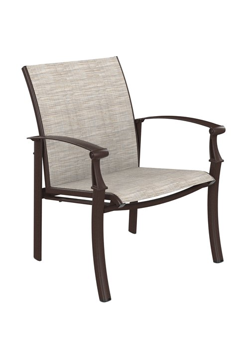 outdoor relaxed sling chair