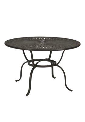round patio counter umbrella table