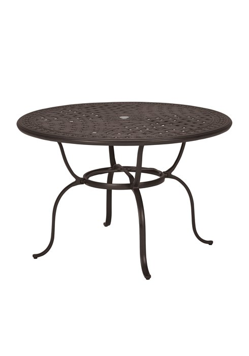 round outdoor counter umbrella table