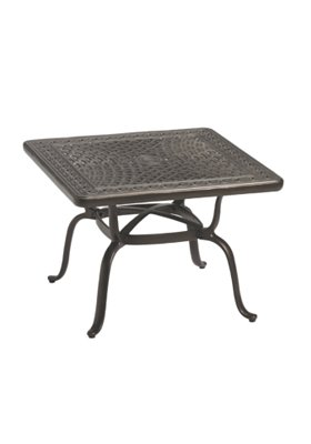 outdoor square end table
