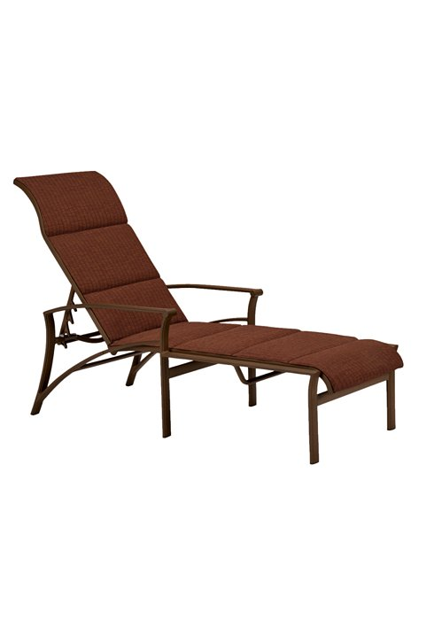 Chaise Lounge Patio Furniture Repair: Corsica Padded Sling Chaise Lounge