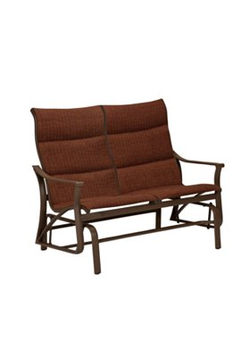 patio padded sling double glider
