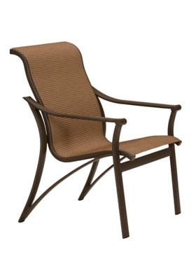 patio sling dining chair