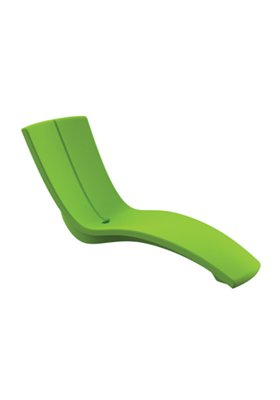 patio curve chaise lounge