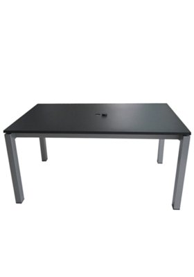 "63"" x 39"" Rectangular KD Dining Umbrella Table"