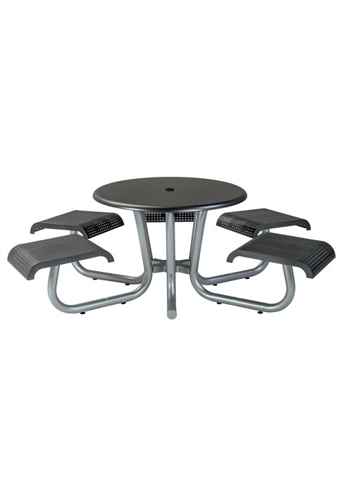 outdoor round picnic table
