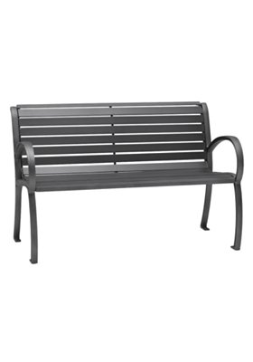 patio slat bench