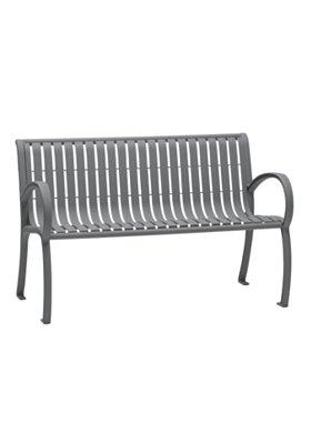 outdoor bench vertical slat