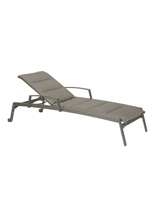Elance Padded Chaise Lounge