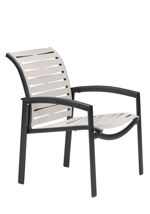 outdoor dining chair ribbon segment