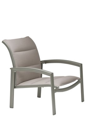 outdoor padded sling spa chair