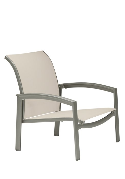 outdoor relaxed sling spa chair