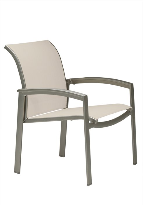 patio relaxed sling dining chair