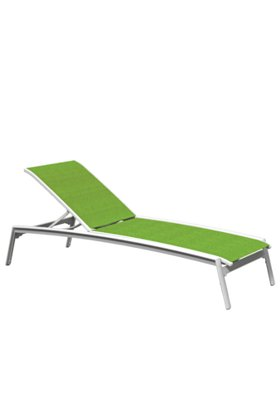 patio relaxed sling chaise lounge