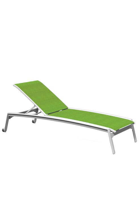 outdoor chaise lounge with wheels