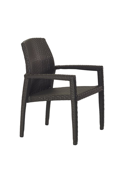 outdoor dining chair woven