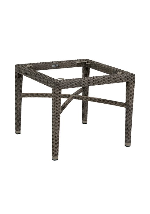 outdoor woven dining table base