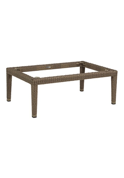 outdoor woven coffee table base