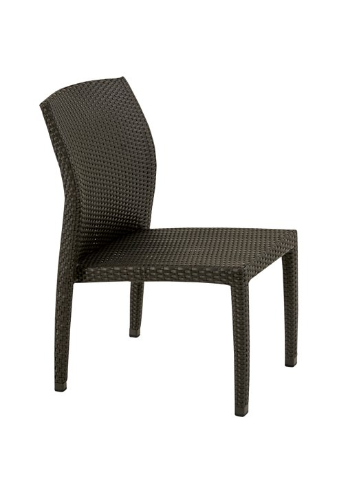 patio woven side chair