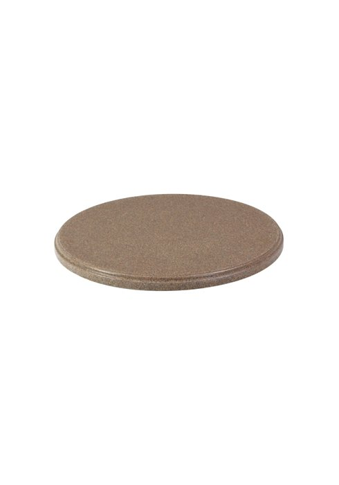 round faux granite table top
