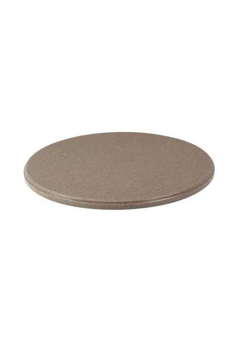 round patio faux granite table top