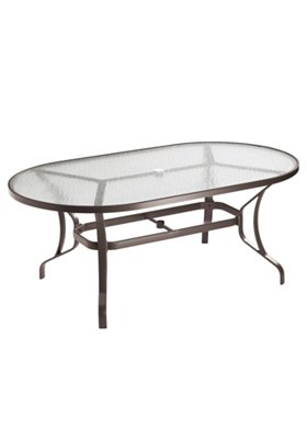 patio oval glass dining table