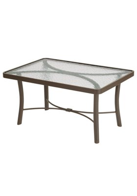 patio glass coffee table