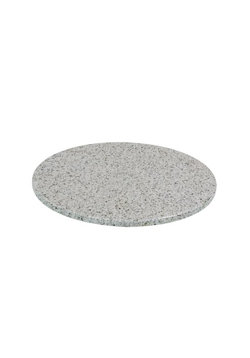 patio round stone table top