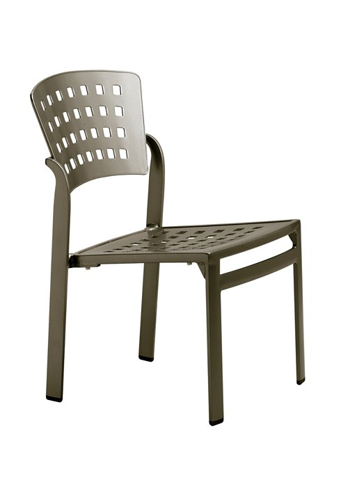 modern patio side chair