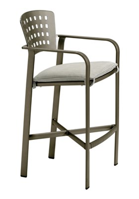 outdoor bar stool with pad