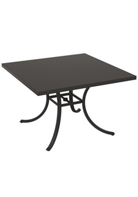 patio dining table in square