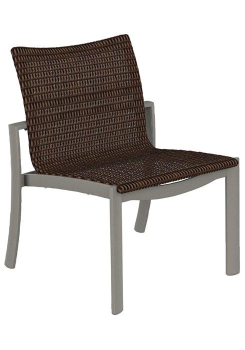 Tropitone Patio Chairs: KOR Woven Side Chair