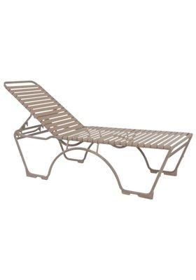 Kahana Strap Armless Chaise Lounge Ada Compliant