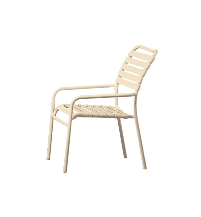 patio strap dining chair