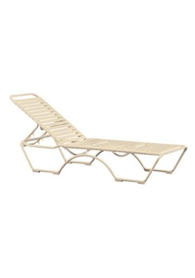 patio strap chaise lounge