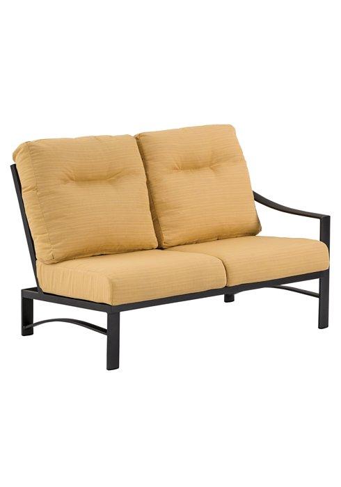 patio cushion left arm double seat module