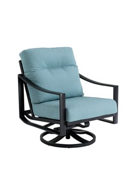 patio cushion swivel action lounger