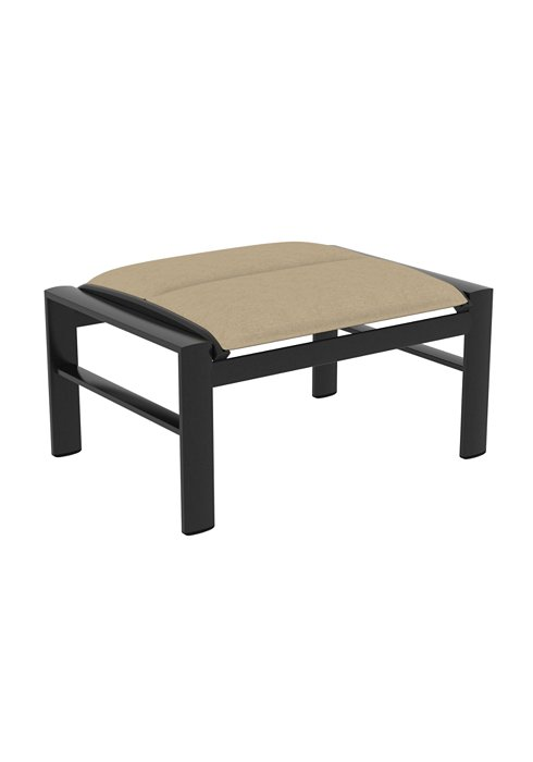 patio padded sling ottoman