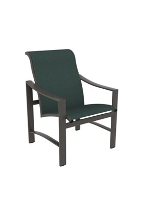 sling outdoor dining chair