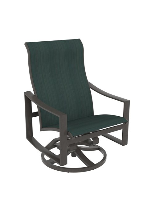 patio swivel action lounger